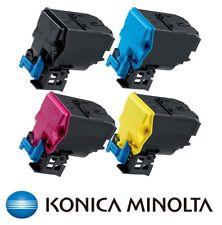 4 x Original Toner Konica Minolta MagiColor 4750EN / TNP18K TNP18C TNP18M TNP18Y