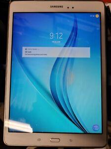 Samsung Galaxy Tab A SM-T550 16GB, Wi-Fi, 9.7 inch - White Tablet