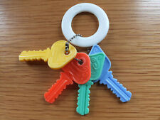 Helly Baby Wunder Babyspielzeug Schlüsselbund  Babyrassel Schlüssel Greifling
