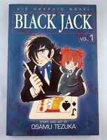 BLACK JACK Vol 1 - Osamu Tezuka - VIZ - OOP Rare - In English