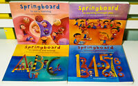 Lot of 4x Springboard Children's Development Manual Books by Kerrie Shanahan!