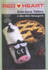 Kitchen Mitts & Puppets, A Hot-Mitt Menagerie crochet patterns