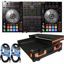 Pioneer DJ DDJ-SX3 4-channel Serato DJ Pro Controller with Orange on Black Co...