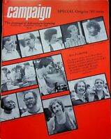 "Vintage ""Campaign"" #99 Magazine 1980 Special Origins '80 Issue The Great Redoubt"
