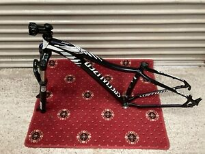 """SPECIALIZED Mt-bike Small 15"""" Alloy Frame Hardtail + Rock Shox Suspension Forks"""