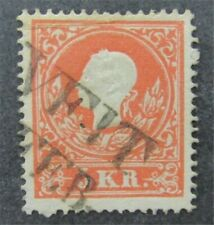 nystamps Austria Stamp # 9a Used $32
