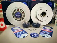 RENAULT TRAFFIC 2014- REAR BRAKE PADS AND *COATED* DISCS + BEARING & ABS RING