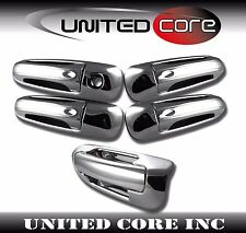 Jeep Grand Cherokee 99 00 01 02 03 04 Chrome Door Handle Cover Chrome Tailgate
