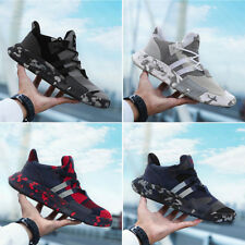 Men's Casual Shoes Sports Outdoor Sneakers Lace Up Running Flat Camouflage