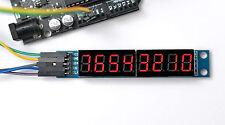 8-Stellige 7-Segmentanzeige mit serieller Ansteuerung (MAX7219), Arduino komp.