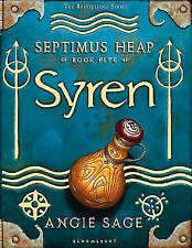Sage, Angie, Syren (Septimus Heap), Very Good Book