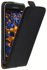 mumbi Ledertasche für Samsung Galaxy S6 Tasche Hülle Case Cover Flip-Case Schutz
