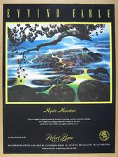 1989 Eyvind Earle Mystic Mountain serigraph offer Robert Bane vintage print Ad