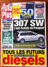 AUTO PLUS du 11/09/2001; 307 SW l'anti scènic de peugeot/ 206 Break/ FIat Stilo
