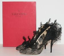 $6000 EXCLUSIVE NEW VALENTINO GARAVANI PHILIP TREACY SCULPTURED LACE PUMP 38 / 8