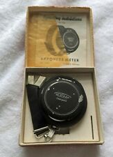 Vintage German Bertram Chronos Light Exposure Meter With Original Box