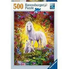 Ravensburger Unicorn and Foal Puzzle 500 Piece Jigsaw Puzzle
