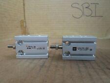 Smc Cylinder Cdu16-5D Cdu165D Lot of 2 New