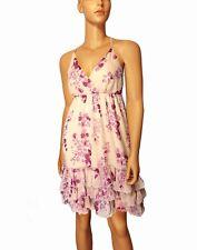 Laura Scott vestido chiffon dama de honor s 36 38 Niñas Señora Rosa boda k31