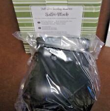1 Scentsy New In Box Satin Black Full Size Warmer Retired Discontinued Rare