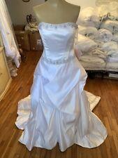 #286 Casablanca Strapless Wedding Gown Gorgous Sz 12
