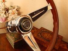 "Volvo  P1800S  Steering Wheel Deep Dish Nardi Wood 13""75  NOS New"