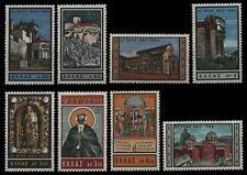 Griechenland 1963 - Mi-Nr. 827-834 ** - MNH - Klöster - Berg Athos