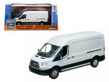 2015 FORD TRANSIT (V363) OXFORD WHITE 1/43 DIECAST MODEL CAR BY GREENLIGHT 86039