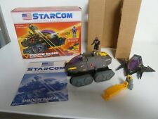 Vintage 1980's Starcom  SHADOW RAIDER WORKING/Instuctions/boxed free UK P&P