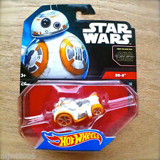 Disney STAR WARS Hot Wheels BB-8 #18 diecast Mattel The Force Awakens droid