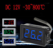 K Type Thermocouple Meter Industrial Digital Thermometer 30 800 Degree