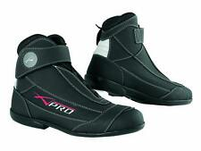 Summer Biker Motorcycle Motorbike Scooter Leather Touring Sport Boot Shoes 45