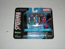 Marvel Spider-Man Minimates PETER PARKER AND MARY JANE 2 Pack
