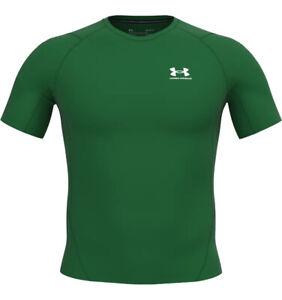 Under Armour Men's HeatGear Short Sleeve Compression Shirt-1361518-FREE SHIPPING