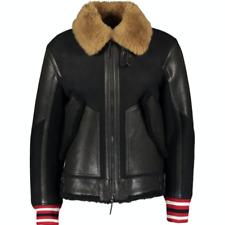 TOMMY HILFIGER Shearing Leather Bomber Jacket - Black - M/UK 40/EU 50
