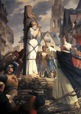 Joan of Arc Burning at the Stake France 7x5 Inch Print