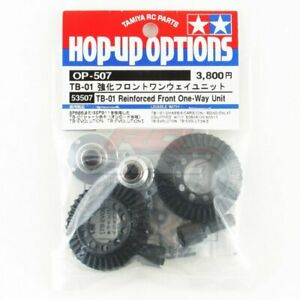 Tamiya 53507 RC Car TB-01 Reinforced Front One-Way Unit Set Option Parts OP507