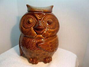 McCoy Owl Cookie Jar #204