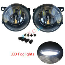 For Ford Focus Fusion Ranger Explorer Mustang 2X Fog Light j Lamp With LED Bulbs