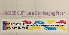 """LASER DARK TRANSFER PAPER: NEENAH """"IMAGE CLIP LASER DARK"""" (8.5""""X11"""") (100 SETS)"""