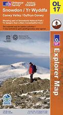 Snowdon (OS Explorer Map), Ordnance Survey, Good, Map