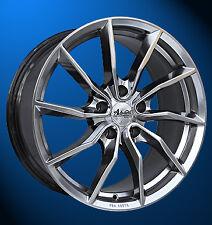 Glänzende Audi Felgen fürs Auto