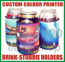 Colour Printed 100 Stubby Stubbie Can Holder Cooler