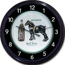Dawes Brewery Quebec Canada Black Horse Biere Beer Tray Wall Clock Ale Porter