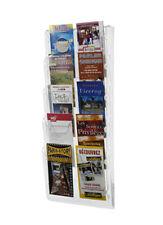 porta brochure da Muro a 10 tasche 1/3 A4 x agenzia viaggi ditta negozio fiera T