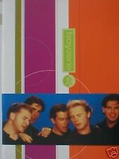 BOYZONE KEATING winter tour 1996 TOUR PROGRAMME 28 page