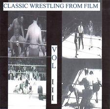 Classic Wrestling III DVD Leslie Carleton Jim Londos Magnificent Maurice Byers
