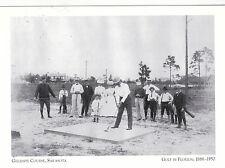 "*Postcard-""Golf Pioneer J. Gillespie"" /Golf Course, Sarasota""-Golf-Florida (#35)"