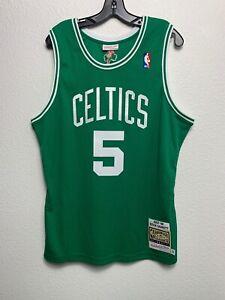 Men Mitchell & Ness NBA Authentic Jersey Boston Celtics Kevin Garnett KG (L)