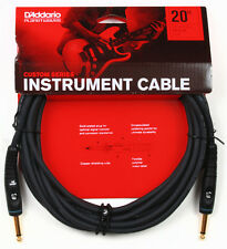 PLANET WAVES PW-G-20 - 20 FOOT CUSTOM SERIES INSTRUMENT CABLE  NEW!